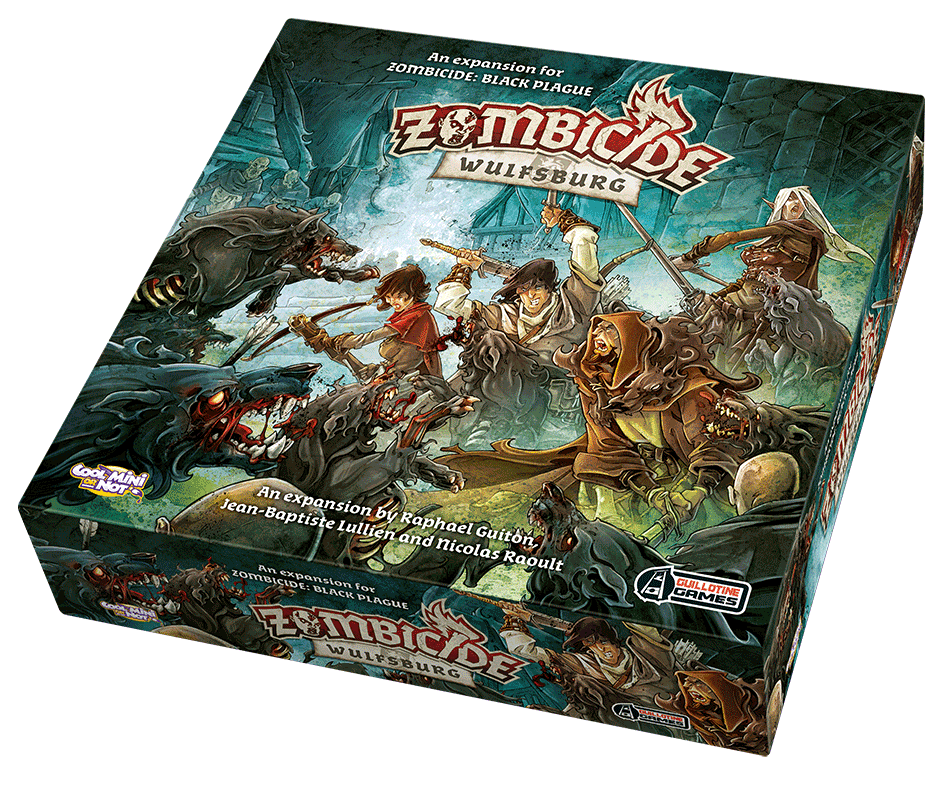 Zombicide Black Plague Wulfsburg Expansion