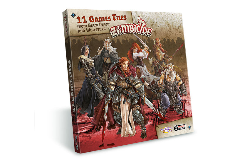 Zombicide Black Plague Games Tiles Extension