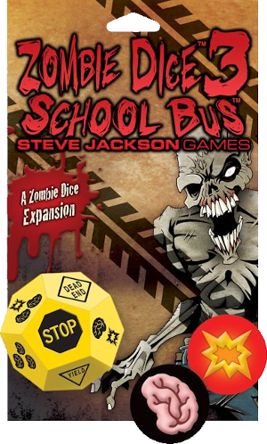 Zombie Dice 3 School Bus Expansion