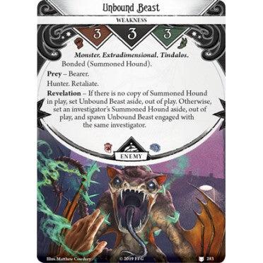 Arkham Horror : The Card Game - Where the Gods Dwell Expansion (anglais)