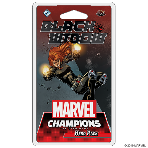 Marvel Champions : the card game - Black Widow Hero Pack (anglais)