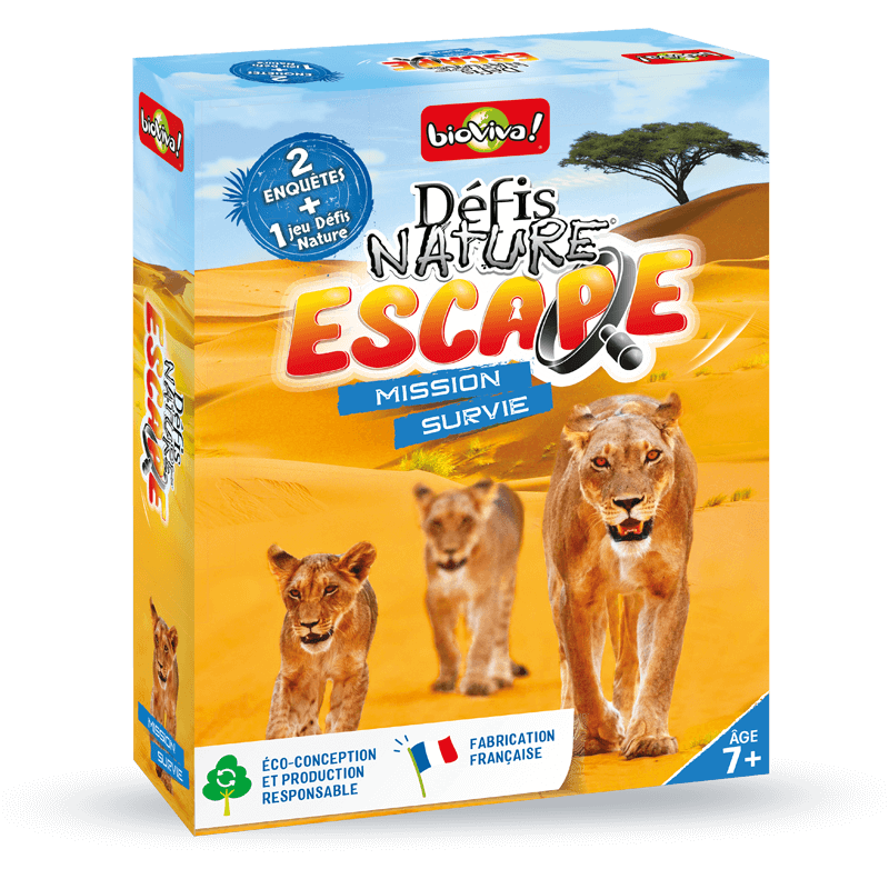 Défis Nature Escape Mission Survie