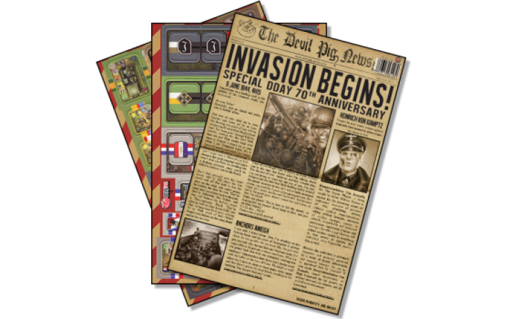 Heroes of Normandie Gazettethe Devil Pig News 0 Expansion