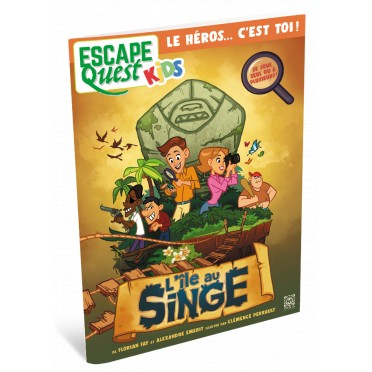 Escape Quest Kids 1 - L'Île au Singe