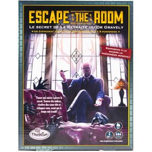 Escape the Room Le Secret de la Retraite du Dr Gravely