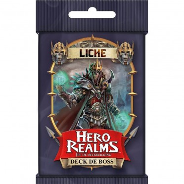 Hero Realms - Deck de Boss - Liche Extension