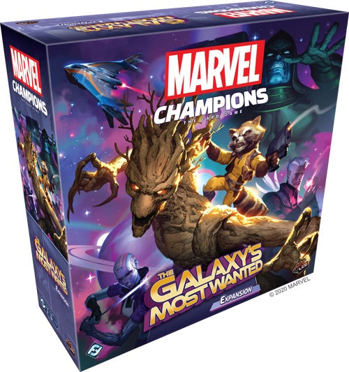 Marvel Champions: le Jeu de Cartes: The Galaxy's Most Wanted