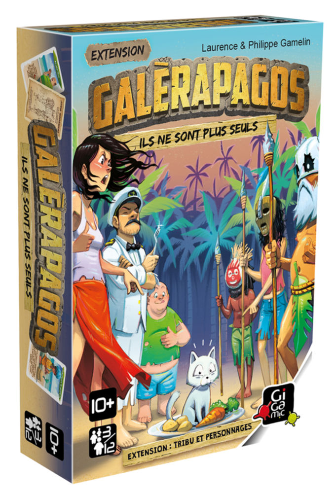 Galérapagos - Tribu et Personnages Extension