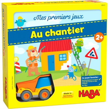 Mes Premiers Jeux Au Chantier My Very First Games Building Site