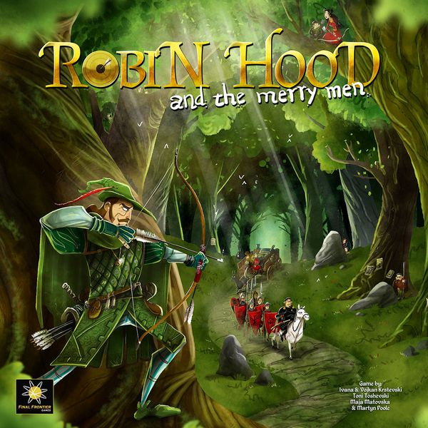 Robin Hood and the Merry Men (anglais)