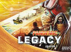 Pandemic Legacy Yellow Season 2 (anglais)