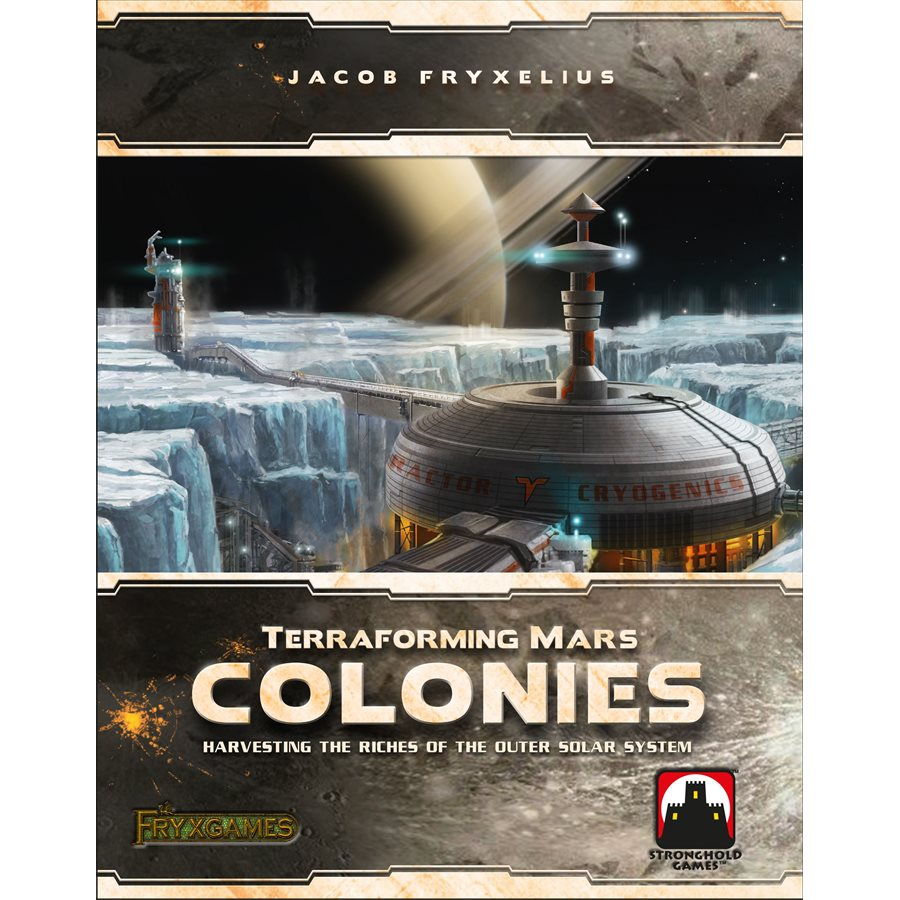 Terraforming Mars - Colonies Expansion (anglais)