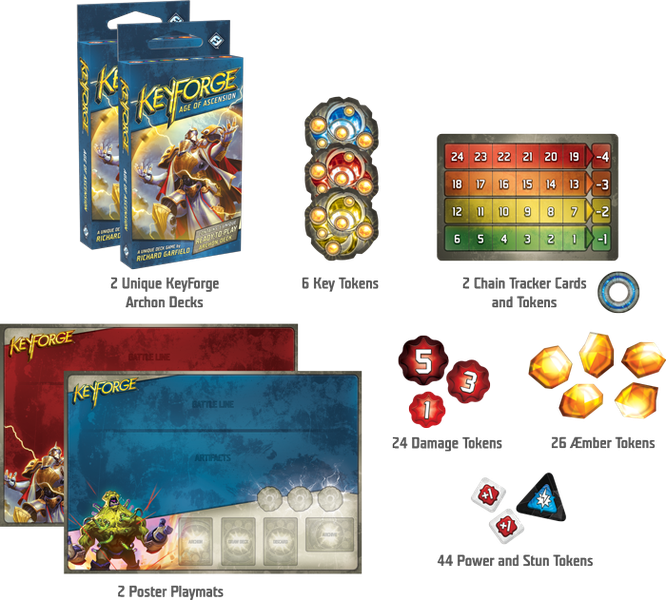 Keyforge: l'Age de l'Ascension