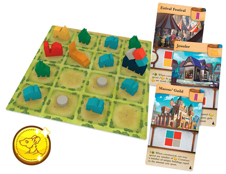 Tiny Towns - Fortune Expansion (anglais)