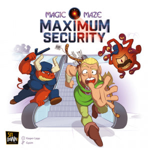 Magic Maze - Maximum Security Extension
