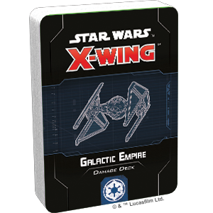 Star Wars X-Wing 2Ed Galactic Empire Damage Deck