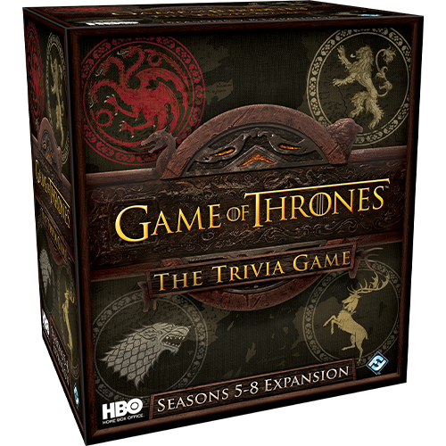 Game of Thrones Trivia Game Season 5-8 - Expansion (anglais)