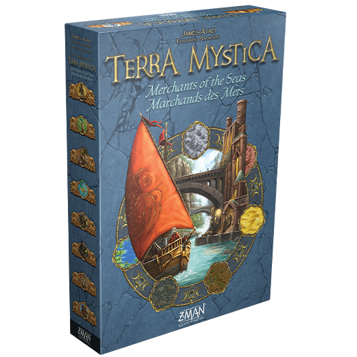 Terra Mystica - Marchands des Mers Extension (multilingue)