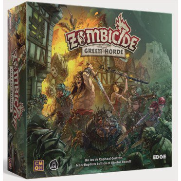 Zombicide Black Plague - Green Horde Extension