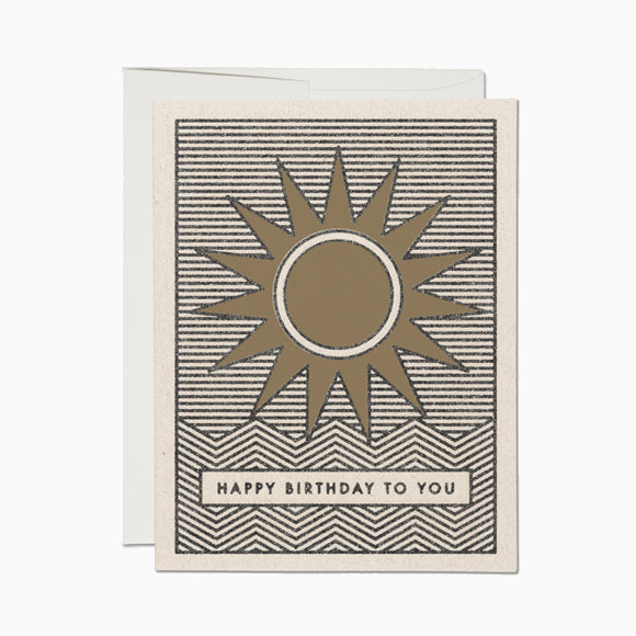 Klappkarte - Sunshine Birthday