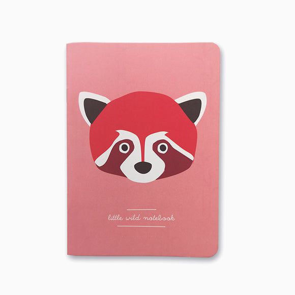Notizheft  - Red Panda A6