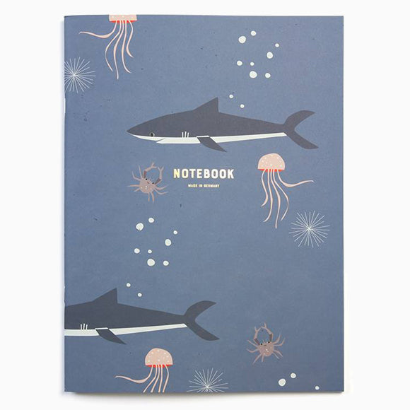 Notizbuch - Notebook Sharks BIG