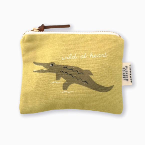 Etui - Crocodile Purse
