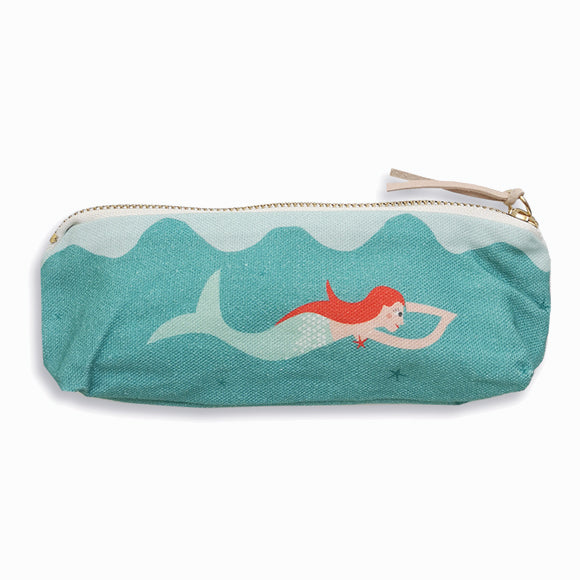 Federtasche - Mermaid + Diver
