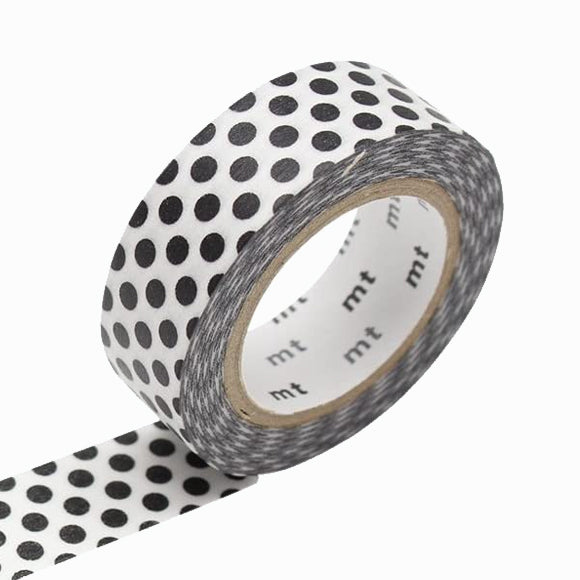 Masking Tape - mt dot black 2