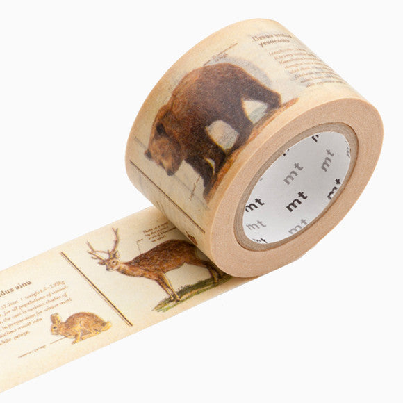 Masking Tape - mt ex encyclopedia animal