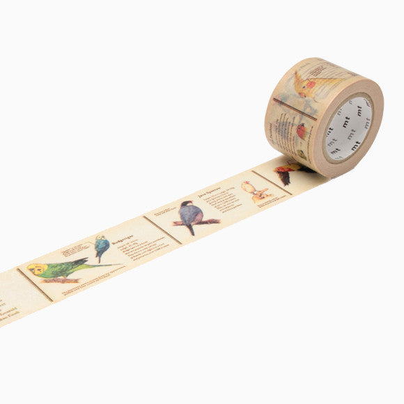 Masking Tape - mt ex encyclopedia bird