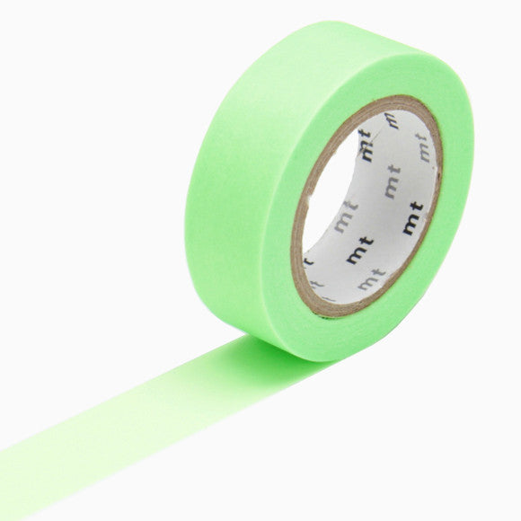 Masking Tape - mt shocking green