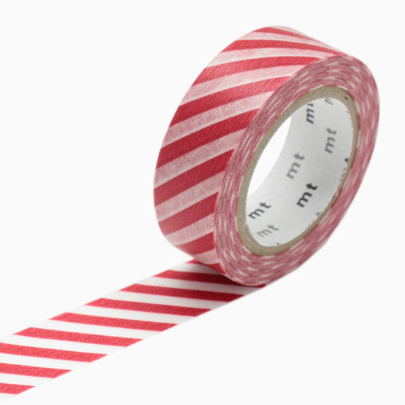 Masking Tape - mt stripe red