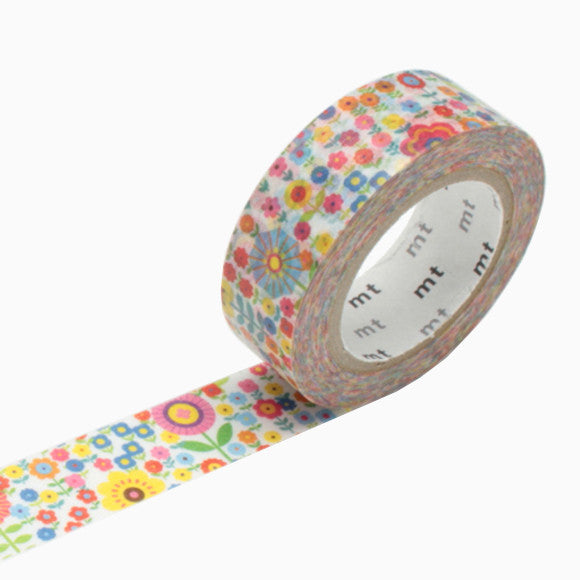 Masking Tape - mt mini flower garden
