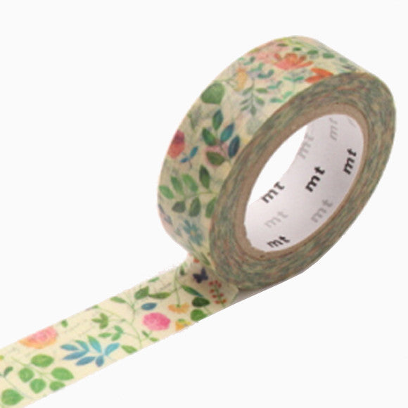Masking Tape - mt ex water color flower