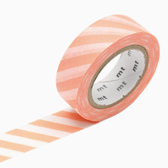 Masking Tape - mt stripe salmon pink