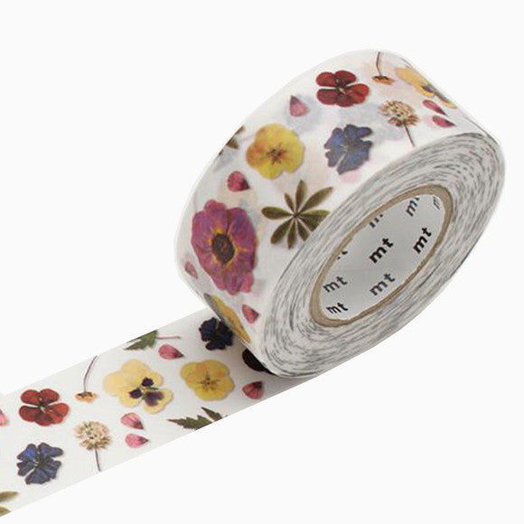 Masking Tape - mt pack pressed flowers
