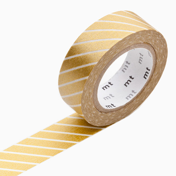 Masking Tape - mt stripe gold