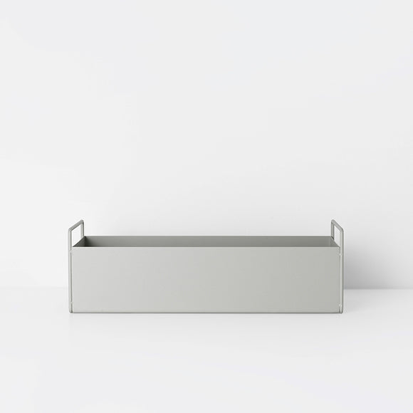 Aufbewahrungsbox - Plant Box small light grey