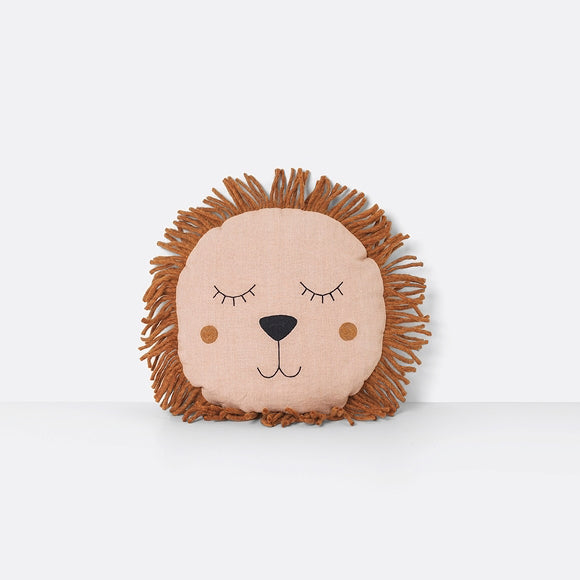 Kissen - Safari Cushion Lion rose