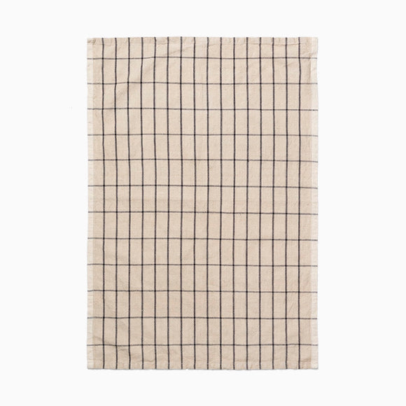 Geschirrtuch - Hale Tea Towel sand/black