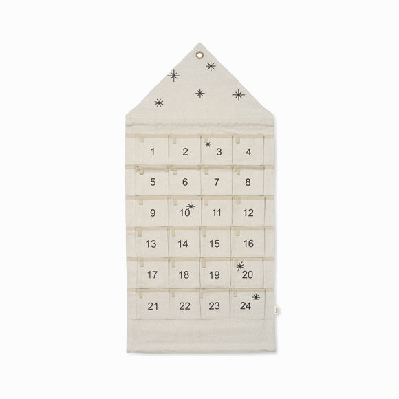 Adventskalender - Star Christmas Calendar Sand