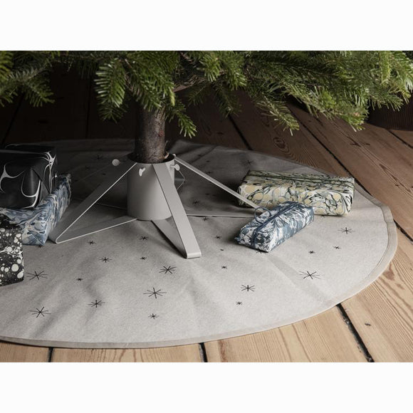 Teppich  - Star Christmas Tree Blanket sand / black