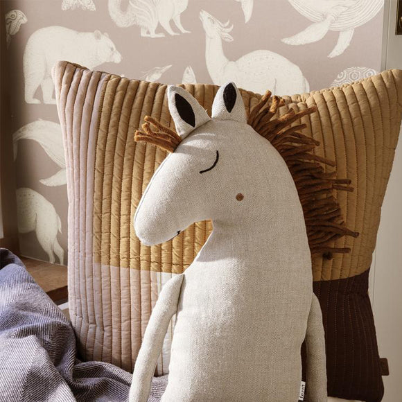 Kissen - Safari Cushion Horse natural