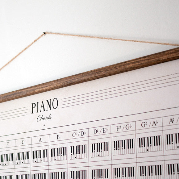 Poster - Piano