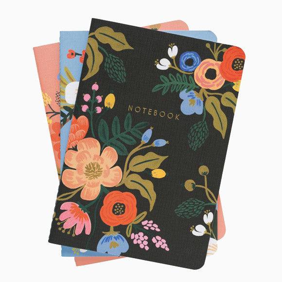 Notizbuch-Set - Lively Floral