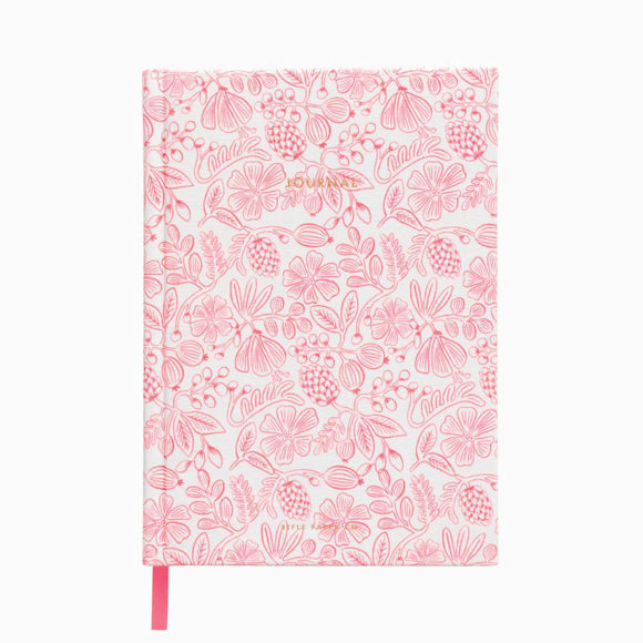 Notizbuch - Moxie Floral Fabric Journal