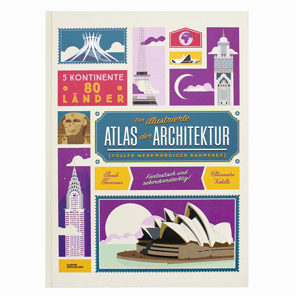 Kinderbuch - Der illustrierte Atlas der Architektur