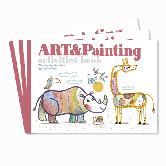 Malbuch - Activities Art & Painting