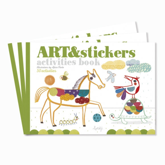 Stickerbuch - Activities Art & Stickers